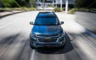 Chevrolet trailblazer 2020 года