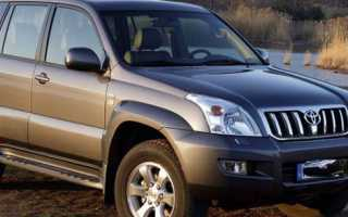 Сравнение toyota land cruiser prado и toyota highlander