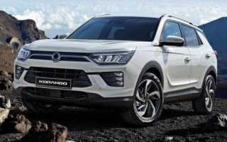 Ssangyong actyon new кроссовер